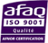 Logo AFAQ norme ISO 9001